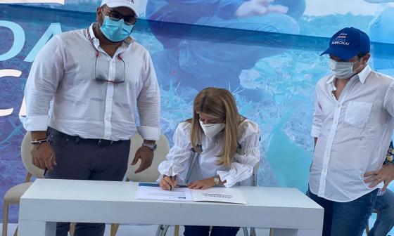 Gobernación del Atlántico firma convenios para beneficio del campo