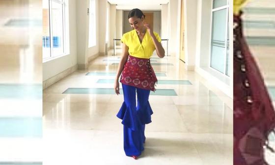 Llega a Barranquilla la Miss Universo 2018, Catriona Gray