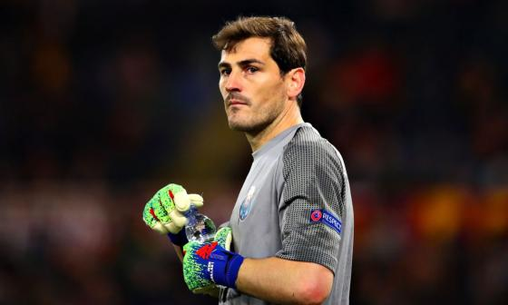 Íker Casillas, ex portero del Real Madrid.