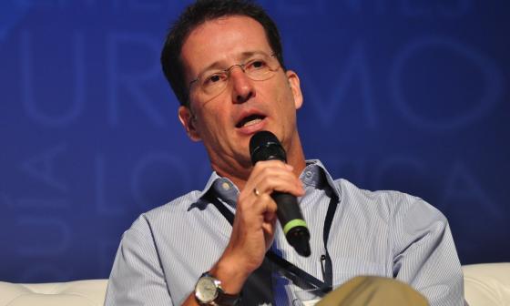 René Puche ganador al premio empresario del año.