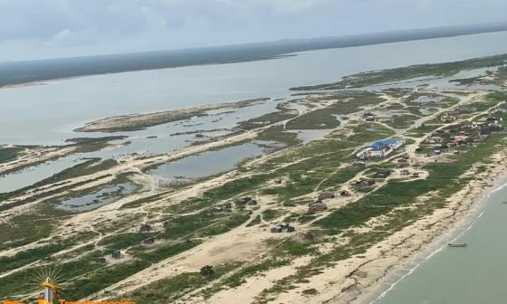 La Alta Guajira está inundada e incomunicada
