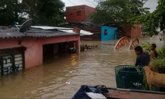 En video   Calamidad en más de 50 barrios por inundaciones en Cartagena