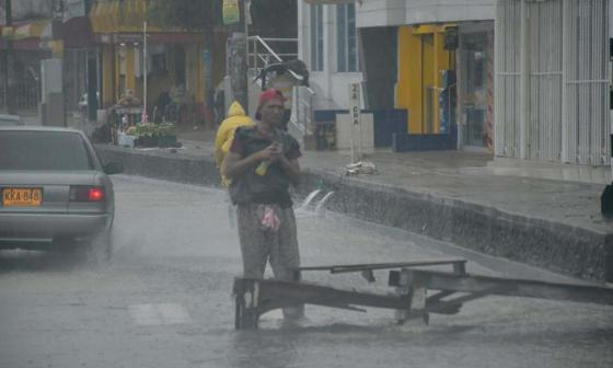 Distrito recomienda tomar medidas preventivas por presencia de tormenta Iota