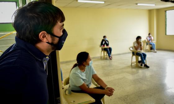 """""""Barranquilla cumplió con las Pruebas Saber 11"""": alcalde Pumarejo"""