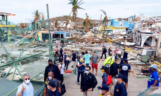 En video   Dos muertos y devastación total tras paso de Iota por Providencia