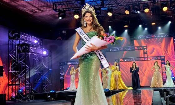Laura Olascuaga es elegida como la primera Miss Universe Colombia
