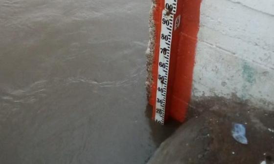 Alerta en El Banco por aumento de niveles del río