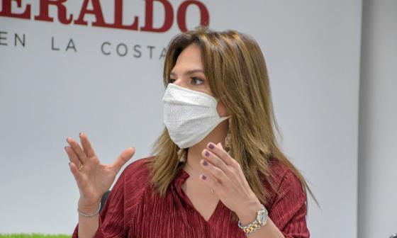 """En video   """"Inversiones apalancarán desarrollo del Atlántico"""": Flavia Santoro"""
