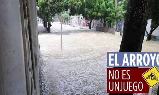 En video | Denuncian que arroyos se meten a casas en Soledad