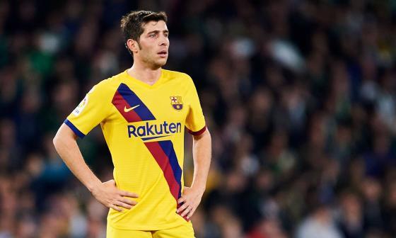 Sergi Roberto se rompe el recto femoral y estará dos meses de baja