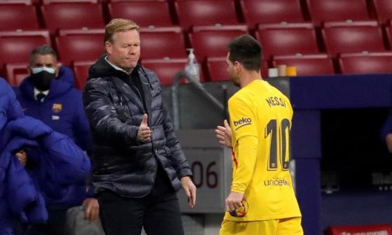 Lionel Messi no estará en el duelo por Champions League frente al Dínamo de Kiev.