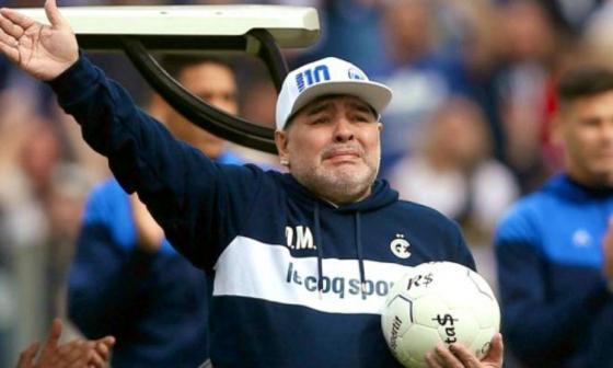 Luto en el mundo del fútbol por muerte de Diego Armando Maradona