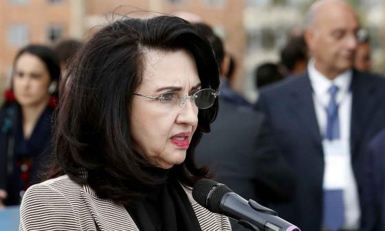 Ministra de Relaciones Exteriores de Colombia, Claudia Blum.