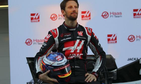 Grosjean afirma que su cuerpo se está recuperando bien luego del grave accidente.