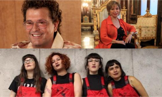Isabel Allende y Carlos Vives estarán en Hay Festival de Cartagena