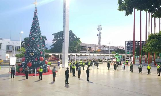 Más de 2.900 policías vigilarán al Cesar durante fin de año