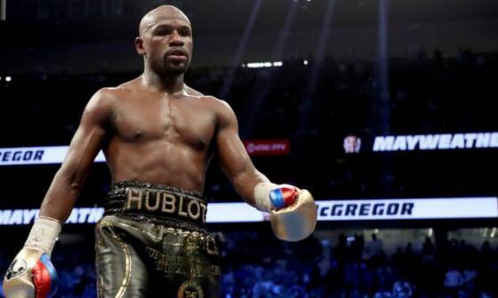 Floyd Mayweather Jr. anuncia que volverá al boxeo para pelea de exhibición
