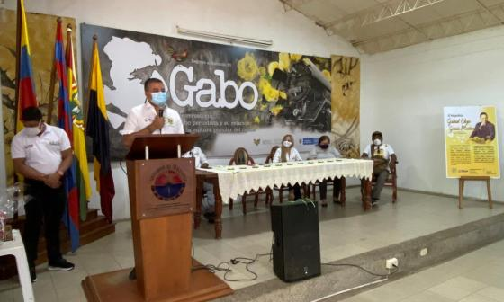 Sincé y Aracataca firman acuerdo de cooperación cultural por Gabo