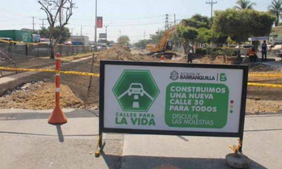 Cierre de vías desde este sábado por obras de ampliación de la calle 30