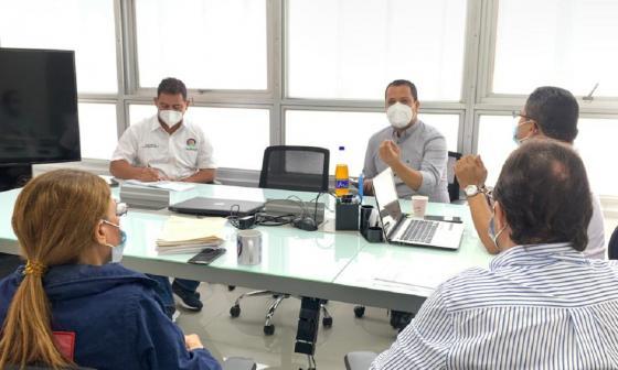 CRUE Barranquilla comparte experiencia con Gobernación del Cesar