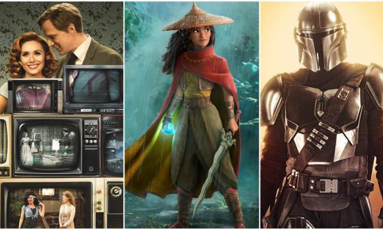 Estos son todos los estrenos que Disney prometió para el 2021