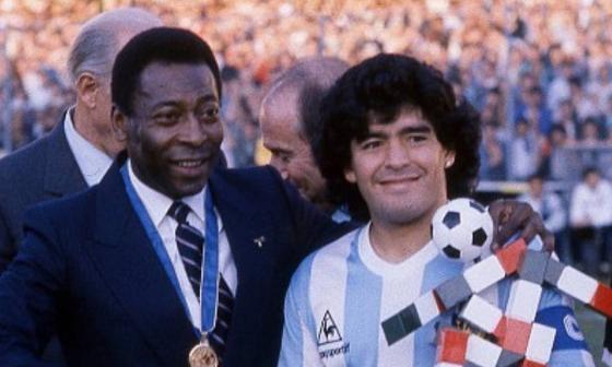 Pelé y Maradona hacen parte del once ideal.