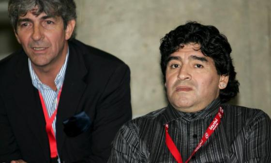 The Best rinde homenaje a Maradona y a Paolo Rossi.
