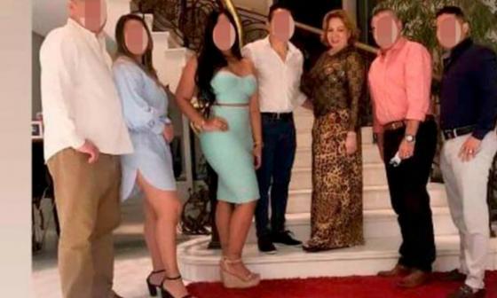 Polémica celebración de cumpleaños de Silvia Gette estando en casa por cárcel