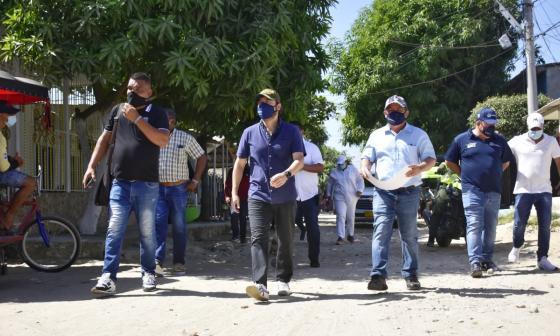 1.5 kilómetros de vías serán pavimentadas en el barrio La Luz