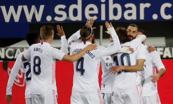 El Real Madrid no se detiene y presiona al Atlético, líder de LaLiga Santander.