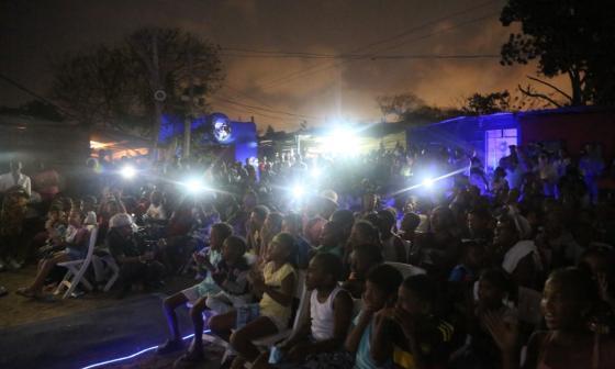 El Festival Internacional de Cine de Cartagena de Indias espera mantener en 2021 sus tradicionales proyecciones al aire libre.
