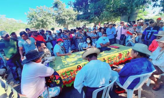 Dos clanes wayuu dijeron sí a la paz