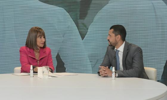 Alicia Arango y Daniel Palacios.