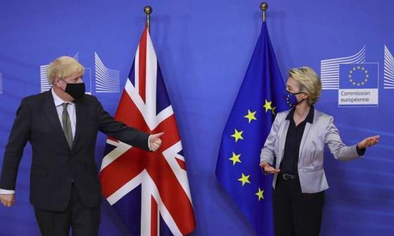 La UE y el Reino Unido logran un acuerdo sobre su relación tras el Brexit