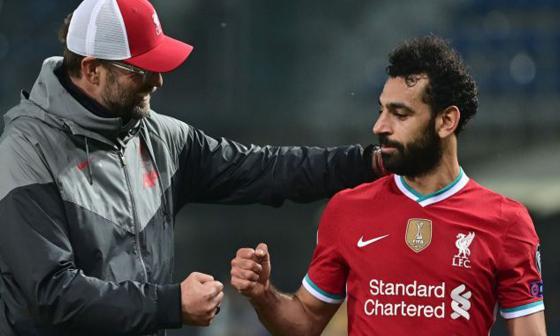 Klopp niega que Salah no esté feliz en el Liverpool