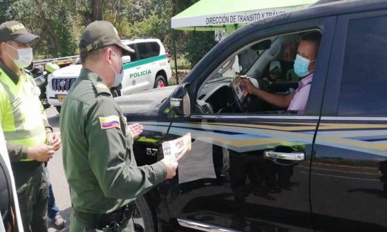 Más de 130 policías cuidan 9 cuadrantes viales en Sucre