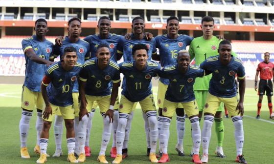 La Selección Colombia Sub-20 viene de disputar partidos amistosos contra Ecuador.