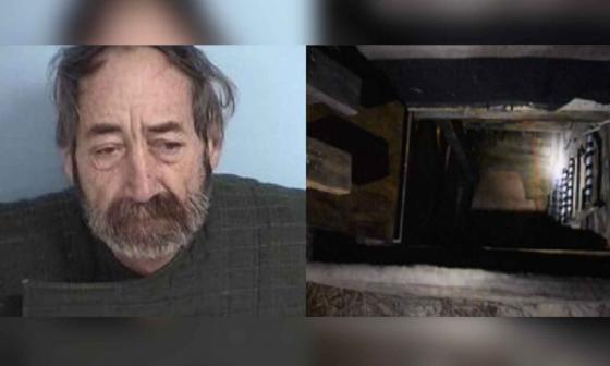 Detenido por pornografía infantil en Florida tenía bunker secreto en su casa