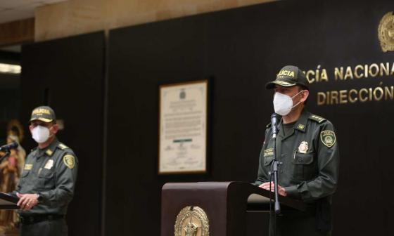 El general Carlos E. Rodríguez, director de Seguridad Ciudadana de la Policía.