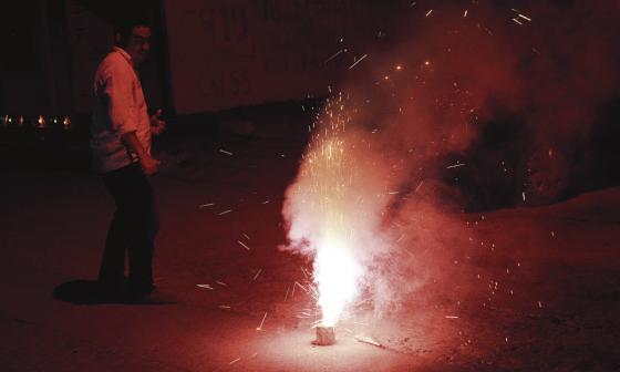 Municipios del Atlántico no reportan lesionados con pólvora en inicio de año