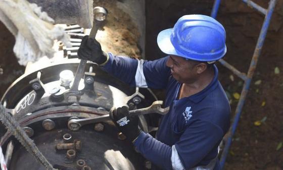 Adelantan mejoras al servicio de acueducto en barrios de Baranoa