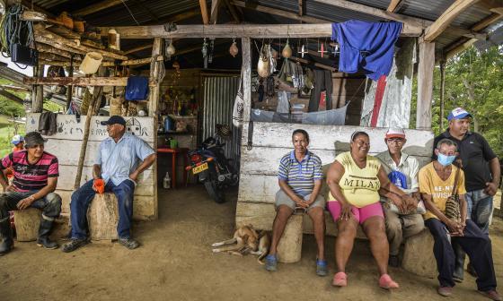 327 familias desplazadas en el 2020 en el Caribe