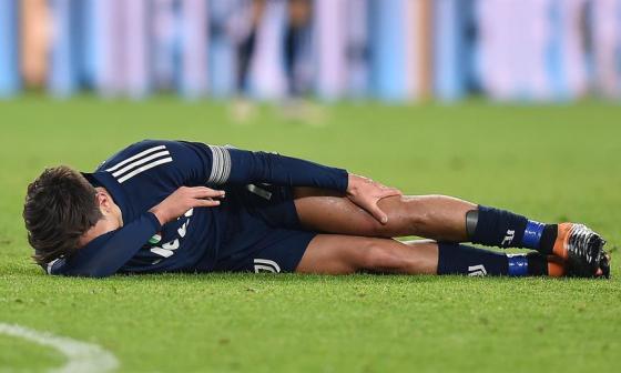 """""""Dybala tiene un trauma por contusión en el ligamento colateral"""": Pirlo"""