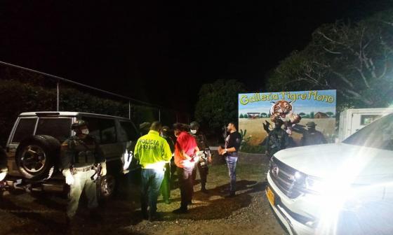 Policía interviene fiesta en Maicao donde había 400 personas