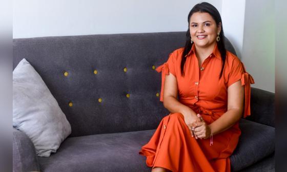 Desde la virtualidad Joyce Cantillo dicta charlas sobre emprendimiento.