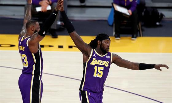 Los Lakers vencieron en el Staples Center por 112-95 a los New Orleans Pelicans.
