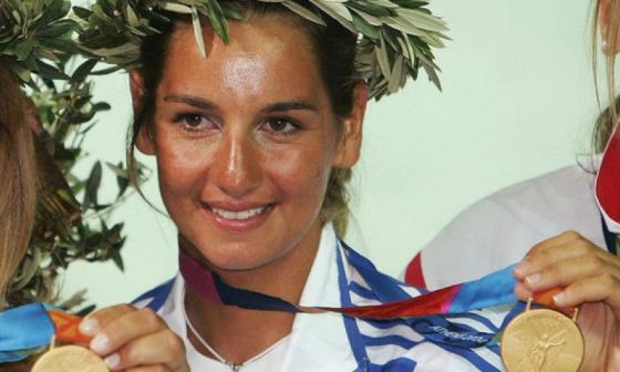 Sofía Bekatoru, ganadora de un oro en los Juegos de Atenas 2004.