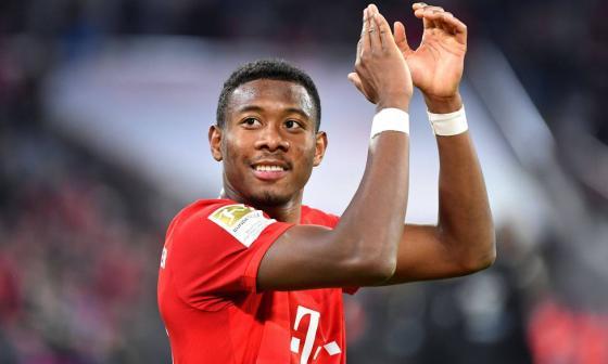 Alaba ganó con el Bayern en 9 ocasiones la Bundesliga.