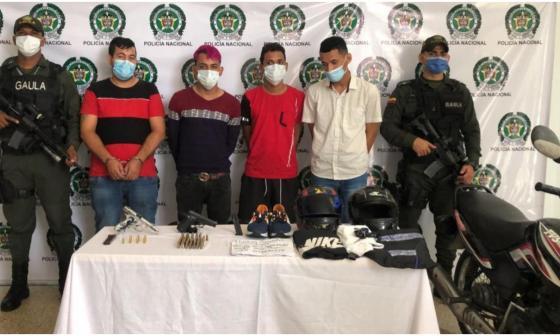 A la Modelo los cuatro capturados por atentado con granada