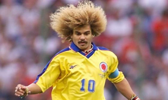 'Pibe Valderrama' es uno de los máximos exponentes del fútbol colombiano.